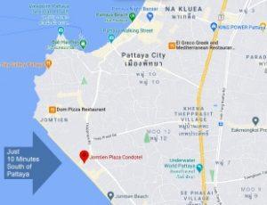 Pattaya Area Map